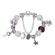 Bracelet: Joyful Peace Essence Pandora Inspired Bracelet - $446,76 MXN