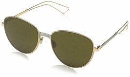 NEW Christian Dior Women Ultradior/S RCX/EC Gold/Matte Grey Pilot Sungla... - $256.83