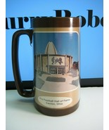 Pro Football Hall of Fame Canton, Ohio Thermo-Serv Plastic Souvenir Mug - $12.64