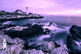 Maine Lighthouse, Cape Elizabeth, Portland Head Light, New England Photos - $30.00+