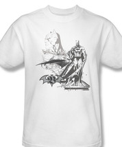 Ustration dc comics the justice league aquaman tee for sale online white graphic tshirt thumb200