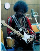 Jimi Hendrix Studio Vintage 24X30 Color Music Memorabilia Photo - $41.95