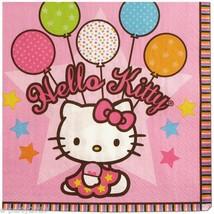 "Hello Kitty 'Balloon Dream' Large Napkins (16ct) 6.5"" x 6.5"" - $6.79"