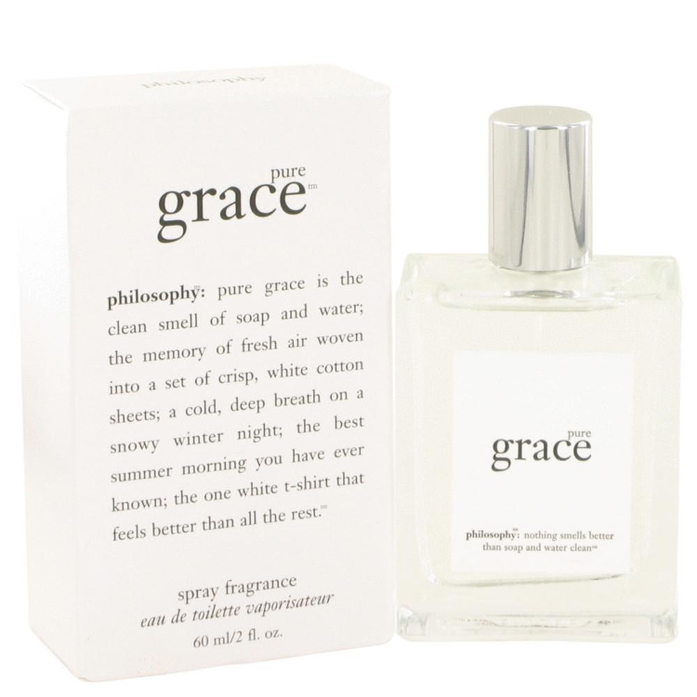 Pure Grace by Philosophy Eau De Toilette Spray 2 oz for Women #502628