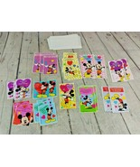 HUGE Lot Of Vintage Mickey Mouse Disney Valentine's Day Cards UNUSED - $29.69