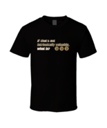 Bitcoin Intrinsic Value 3 Black T Shirt - $17.99 - $19.99