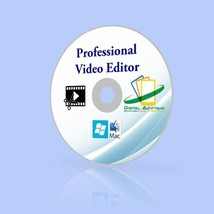 Professional Video Editor Editing Suite Softwar... - $8.81