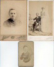 Joseph Fandel & Wife Ellen Ochs, Elizabeth Fandel (3) Photos - Boston, MA - $52.50