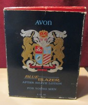 VINTAGE AVON  - BLUE BLAZER AFTER SHAVE LOTION  6 FL OZ - $95.00