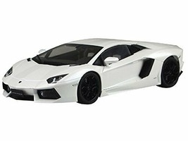 1/24 PRE PAINTED MODEL No.43 LAMBORGHINI AVENTADOR LP700-4(white pearl) - $112.35