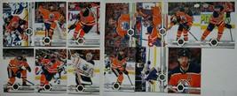 2019-20 Upper Deck UD Edmonton Oilers Series 1 & 2 Team Set 13 Hockey Cards - $5.99