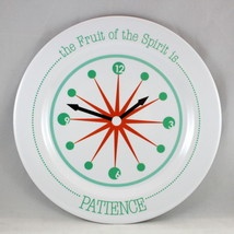 """Patience"" Kids Plate Brand NEW The Fruit Of The Spirit BPA-Free & Non-B... - $12.66"