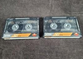 TDK SD-110 Audio Cassette Tape IEC II Type II High Bias New Lot of 2 - $10.99
