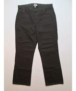 LL Bean Women Jeans Size 20 MT Inseam 32 Brown Classic Fit #M1 - $20.99