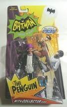 "BATMAN '66 CLASSIC TV SERIES - PENGUIN BURGESS MEREDITH 6"" ACTION FIGURE - £16.81 GBP"