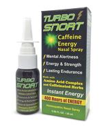Turbo Snort Caffeine Creatine Taurine Amino Acid Nasal Spray Energy Supp... - $11.15