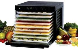 OPENED  BOX Tribest Sedona Dehydrator - 9 Tray BPA Free Glass Door - SD-... - £281.63 GBP