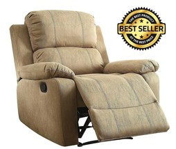 NEW Recliner Memory Foam Pillow Top Arm Chair TV Furniture Bina Cushion ... - $428.03