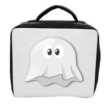 EMOJI GHOST LUNCH BAG 3 COLOURS AVAILABLE - CAN BE PERSONALISED SCHOOL - $20.85