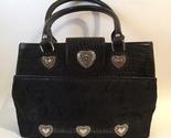 Purse black heart fabric leather  1  45  4.50 thumb155 crop