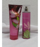 Bath & Body Works PLUMERIA NEW Body Cream Lotion Mist lot of 2 8 fl oz ea - $27.23