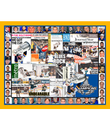 St. Louis Blues Stanley Cup Mosaic Newspaper Collage Print Art - $24.99 - $139.00