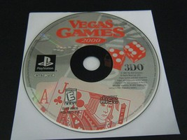 Vegas Games 2000 (Sony PlayStation 1, 1999) - Disc Only!!! - $5.34