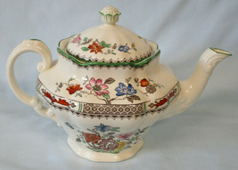 Spode Chinese Rose Coffee Pot From 1913 Clean  - $69.19