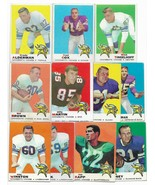 1969 Topps Minnesota Vikings Team Set with Joe Kapp - $25.45