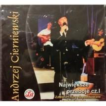 Andrzej Cierniewski Najwieksze Przeboje Cz.l CD - $24.95
