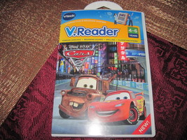 VTECH V.READER DISNEY PIXAR CARS 2 READING  SPELLING FOREIGN LANGUAGE NEW - $8.86