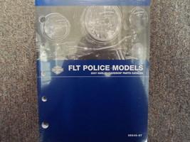 2007 Harley Davidson FLT Police Models Parts Catalog Manual FACTORY OEM NEW 2007 - $89.22