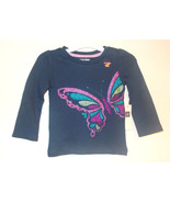 babyGap Infant Girls Butterfly Long Sleeve Shirt Purple Pink Size 12-18M... - $10.08