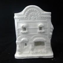 "California Creations Ready-to-Paint Ceramic House ""Bakery"" 10309 Non-Winter - $24.26"