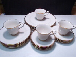 20 Piece Set Noritake Viceroy Dinnerware ~~ nice ~ service for four - $58.99