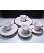 20 Piece Set Noritake Viceroy Dinnerware ~~ nice ~ service for four - $91.99