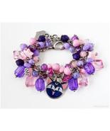 Sailor Moon Luna P Charm Bracelet, Sailor Moon Jewelry, Anime Jewelry, C... - $49.00