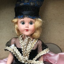 Vintage Hard Plastic Marcie Doll Eyes Open Ethnic Collectible Doll 60's? - $25.00