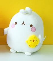 Molang and Piu Piu Stuffed Animal Plush Rabbit Toy Soft Cushion 9.8 inches image 2