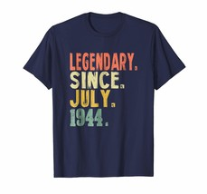 Brother Shirts - 74th Birthday Gifts Vintage Legendary 1944 Shirt Awesom... - $19.95+
