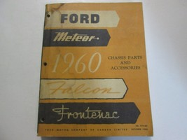 1960 FORD METEOR FALCON FRONTENAC Chassis Parts & Accessories Manual OEM... - $49.45