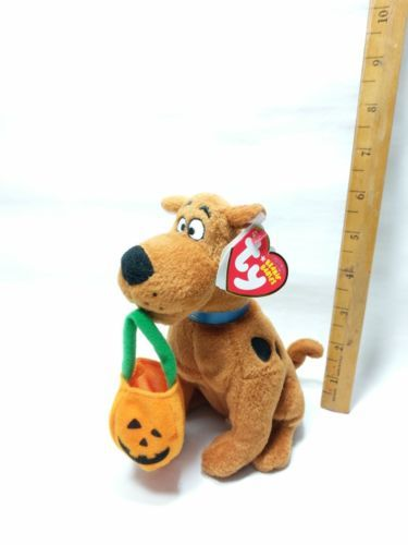 9f2160d1a79 Ty Scooby Doo With Pumpkin Bag The Beanie and 50 similar items