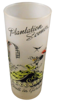Plantation Scenes LIBBEY 1950s Stroll in the Garden Southern Belle Mid Century - $4.07