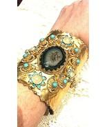 Nemesis Handgemacht Goldener 925 Sterlingsilber Duzy - $237.60