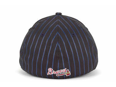 quality design babad fc3e3 Atlanta Braves New Era 39Thirty MLB Baseball Frozen Rope Cap Hat Sizes S M