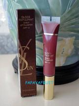 $26 NIB YSL Gloss Repulpant Lip Plumper~#3 GLOSSY BROWN - $16.82
