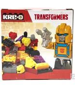 Transformers KRE-O Brick Box Bumblebee 77 pcs Decepticon Hasbro KREO Gol... - $11.99