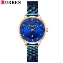 CURREN Watch Women Casual Fashion Quartz Wristwatches Creative Design Ladies - $39.17
