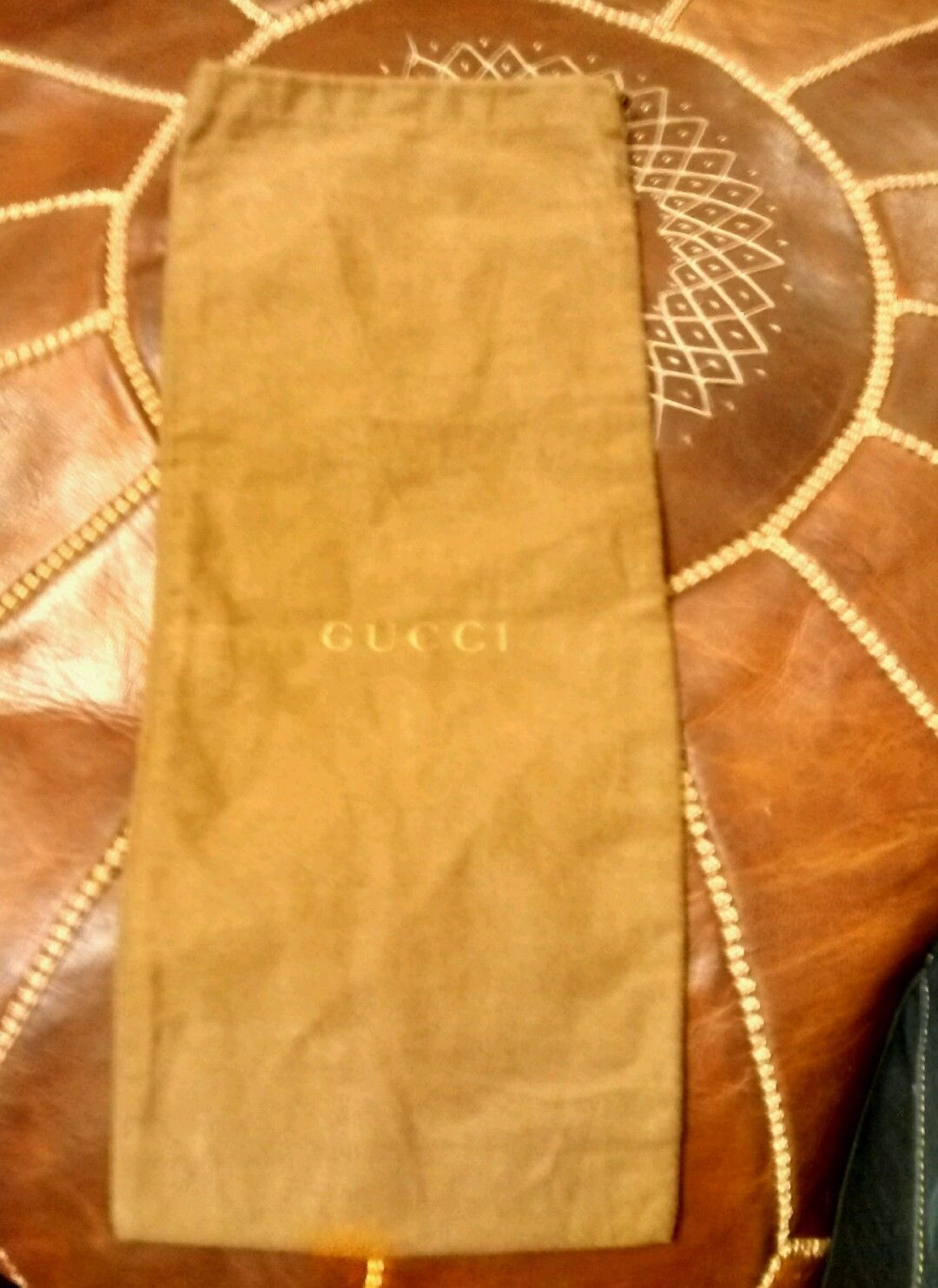 10c243aab7e Genuine Gucci Brown shoe Dust Bag ONLY With and 14 similar items. S l1600