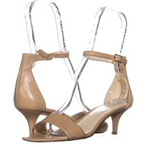 Nine West Leisa Ankle Strap Sandals 646, Natural, 8 US - $28.79